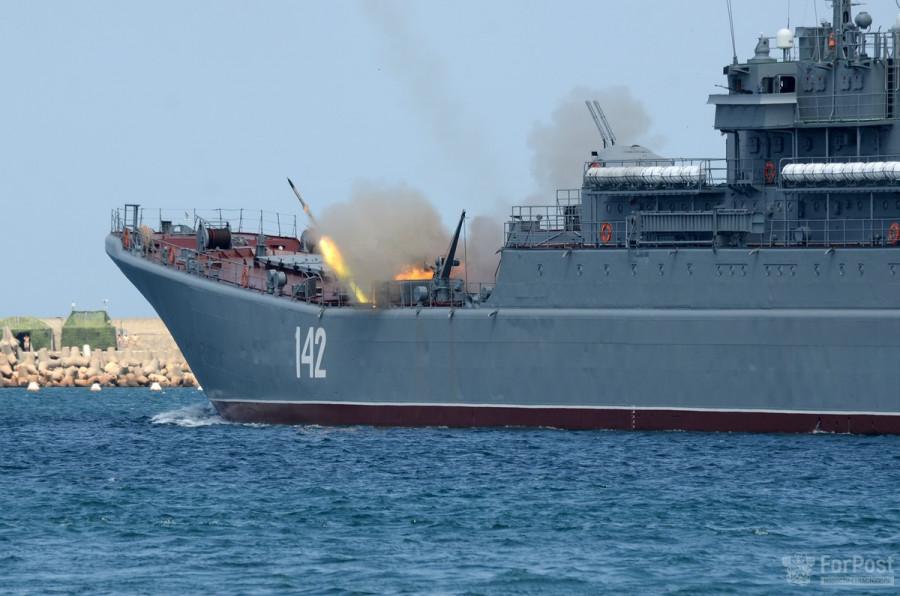 ForPost - Новости : Морской парад в Севастополе – полная версия