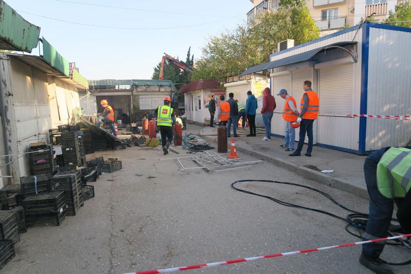 ForPost - Новости : В Севастополе вместо продуктового рынка уложат автомобильную дорогу