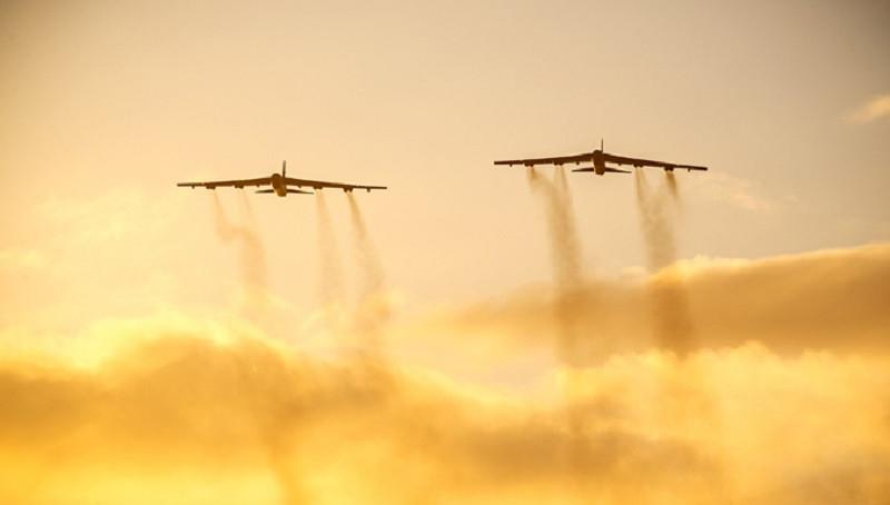 ForPost - Новости : К Крыму со стороны Украины подлетели ядерные бомбардировщики США