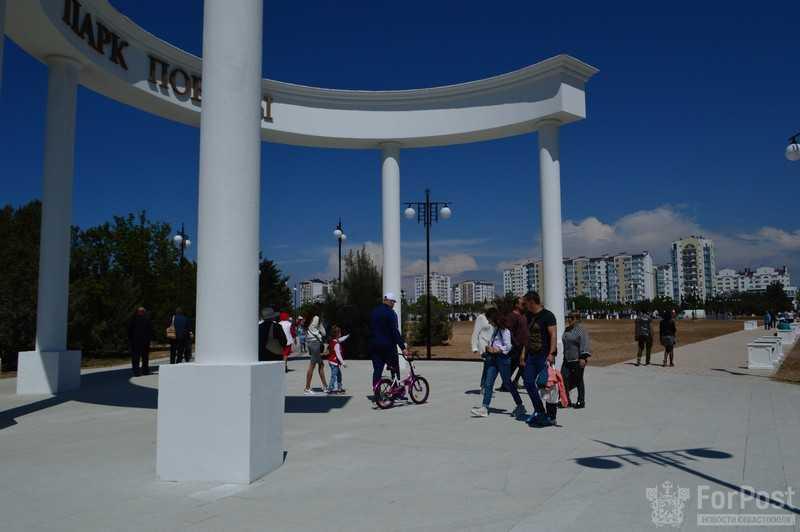 ForPost - Новости : Парк Победы в Севастополе ждёт вторая очередь реконструкции