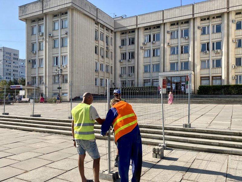 ForPost - Новости : В Севастополе началось масштабное благоустройство ПОРа
