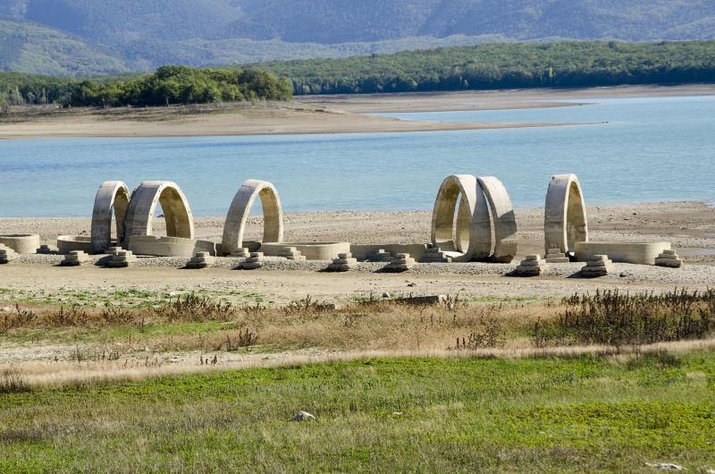 ForPost - Новости : Как Чернореченское водохранилище выглядит сегодня