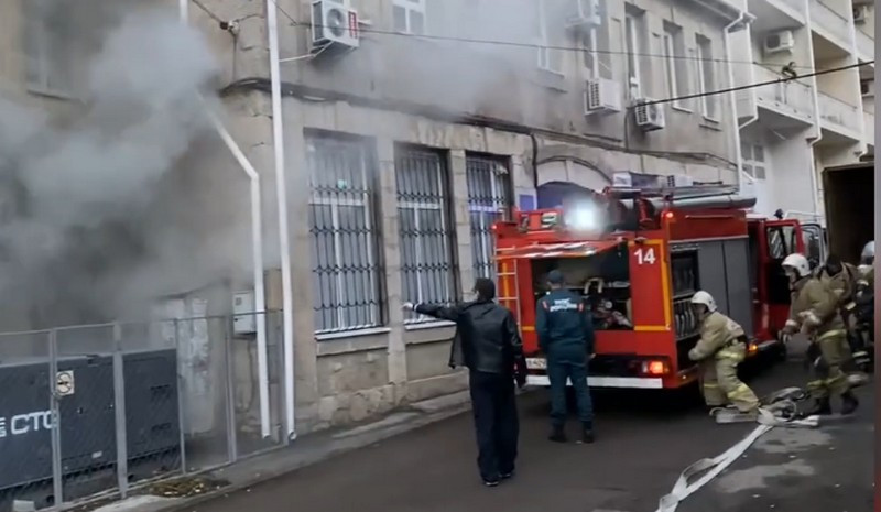 ForPost - Новости : В крымском храме во время службы начался пожар