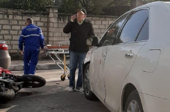 ForPost - Новости : Севастопольский политик Иван Ермаков попал в ДТП с мотоциклом