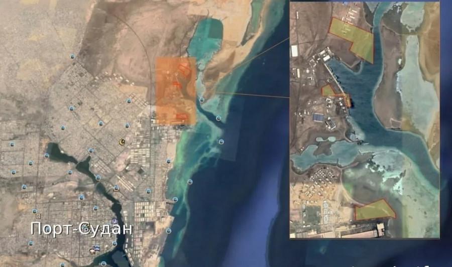О базе ВМФ в Судане