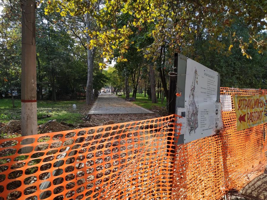 ForPost - Новости : Вопреки планам: Севастопольские парки не открылись после ремонта