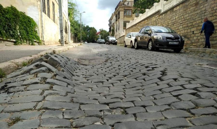 ForPost - Новости : Улицу Суворова в центре Севастополя снова ждёт масштабный ремонт