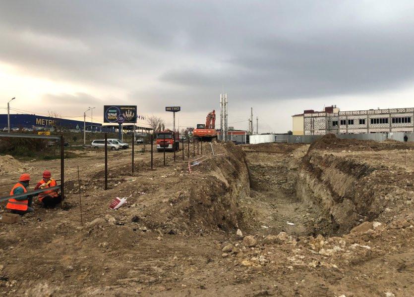 ForPost - Новости : В Севастополе начали строить «несложный» спорткомплекс