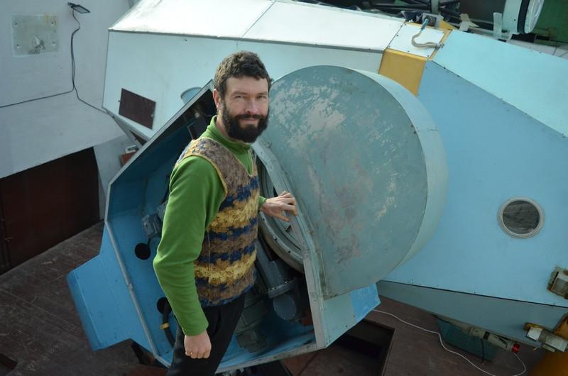 ForPost - Новости : В Крыму энтузиасты своими силами восстанавливают уникальный советский телескоп