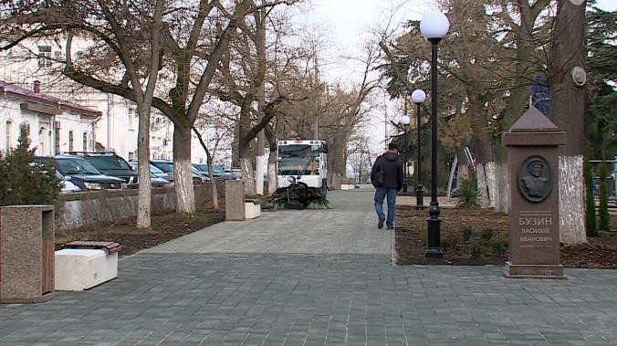 ForPost - Новости : Спорный сквер открыли для севастопольцев