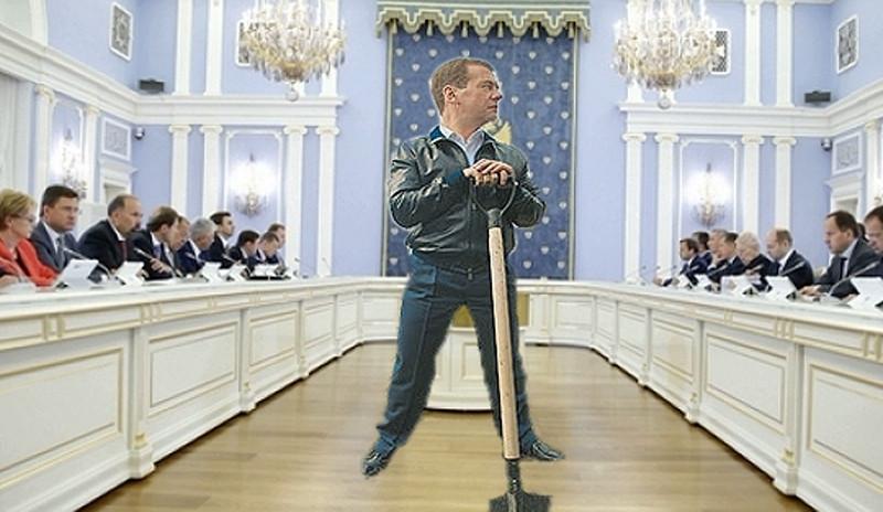 ForPost - Новости : Не только дураки и дороги: Дмитрий Медведев нашёл третью русскую беду