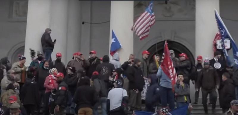 ForPost - Новости : Протестующие в США захватили Сенат