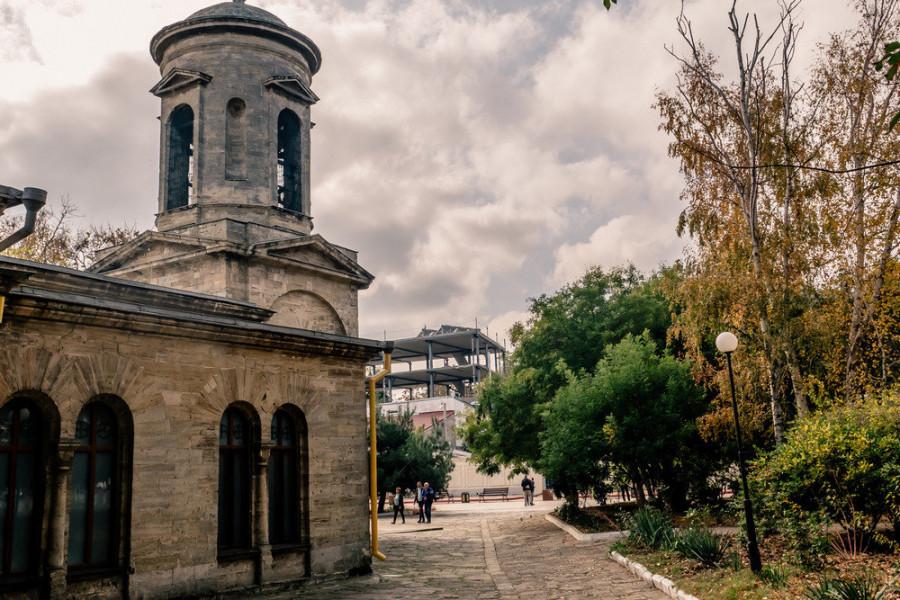 ForPost - Новости : Древнейшему православному храму России в Крыму грозит застройка