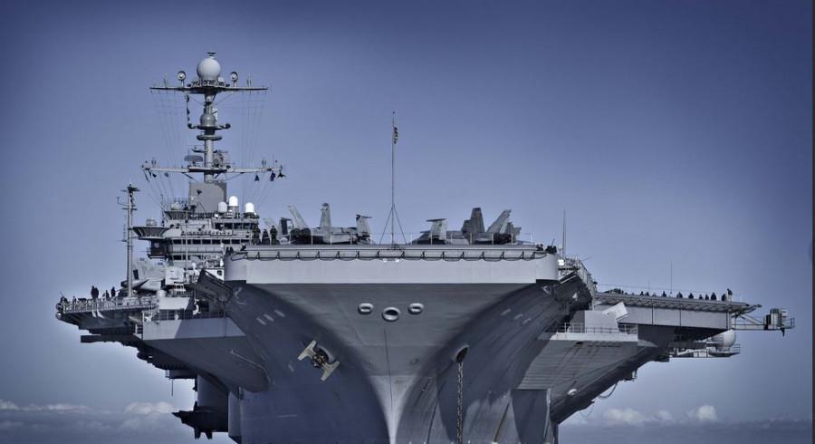 Описан способ уничтожения авианосца ВМС США у берегов России