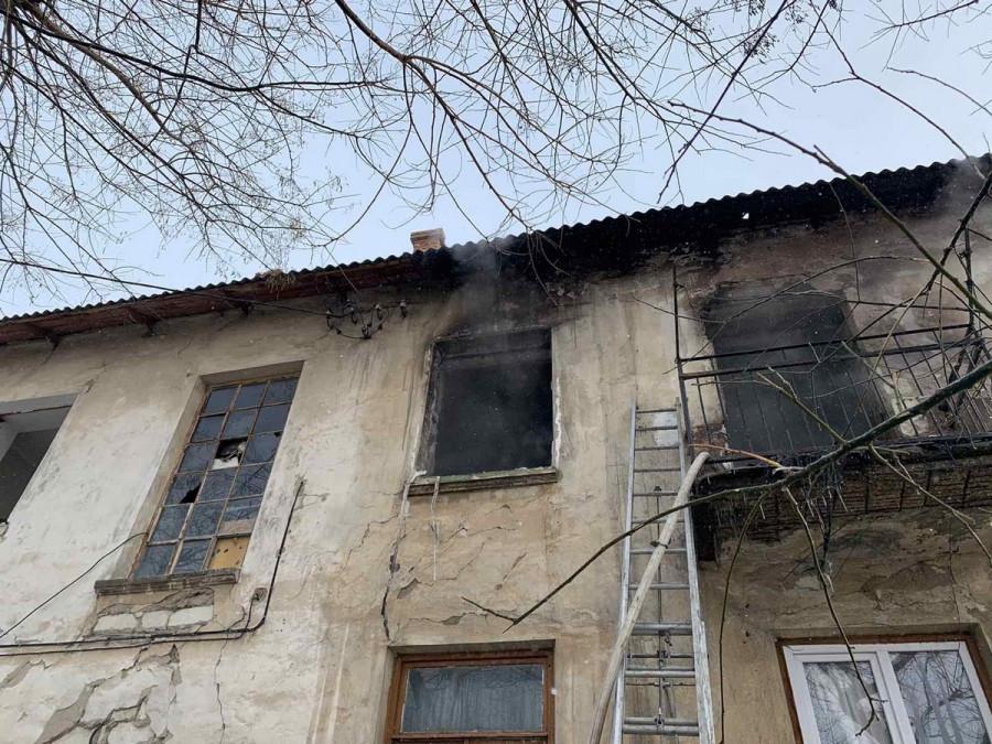 ForPost - Новости : В очередной заброшке Севастополя произошёл пожар