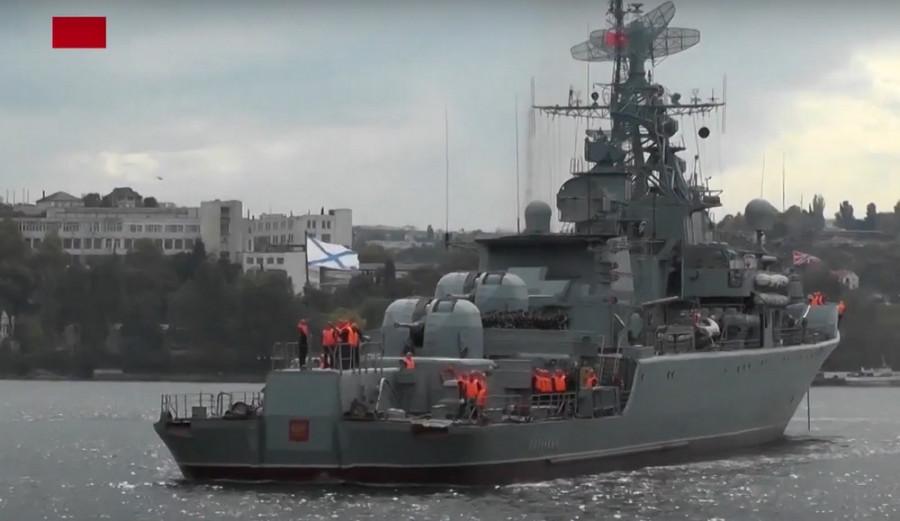 ForPost - Новости : Сторожевик «Пытливый» повоюет против «Бала» и «Бастиона»