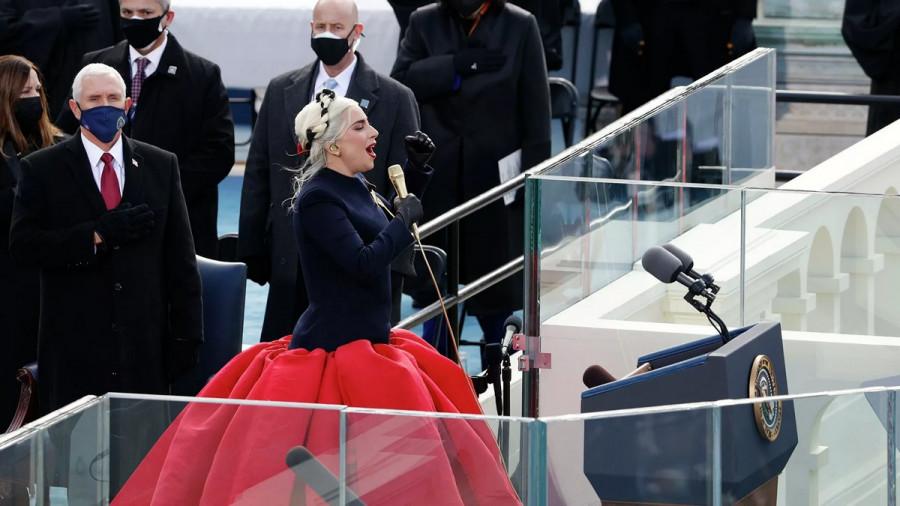 ForPost - Новости : Опубликовано видео выступления Леди Гаги с гимном США на инаугурации Байдена