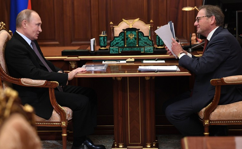 ForPost - Новости : Путину предложили работу после ухода с поста президента