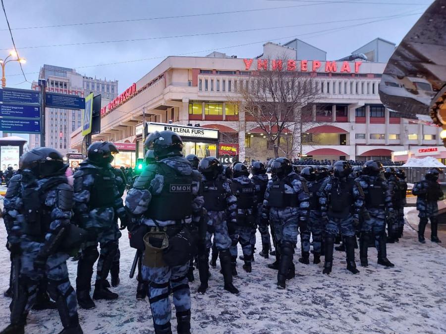 ForPost - Новости : Демонстрации по стране 31 января. Как это было