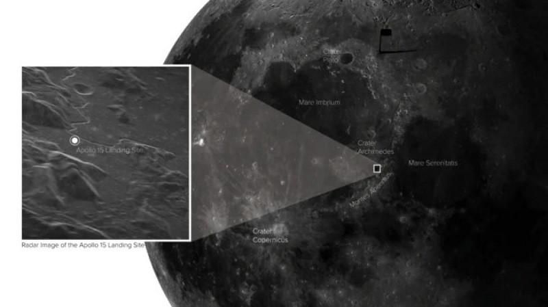 ForPost - Новости : Учёные сняли с Земли фото места высадки американцев на Луне