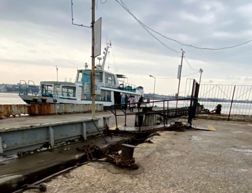 ForPost - Новости : На Северной стороне Севастополя отремонтировали причал