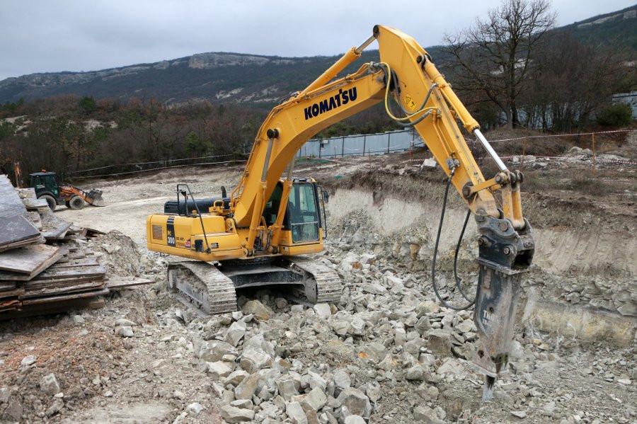 ForPost - Новости : В Севастополе началось строительство пожарных депо в лесах
