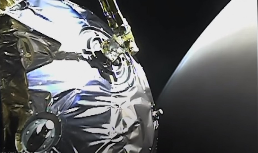 ForPost - Новости : Космический зонд прислал на Землю видео с Марса