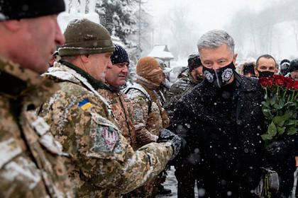 Порошенко потребовал вернуть украинскую армию на прежние позиции в Донбассе