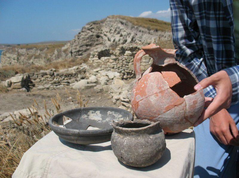 ForPost - Новости : На западе Крыма обследуют загадочную башню IV века до нашей эры