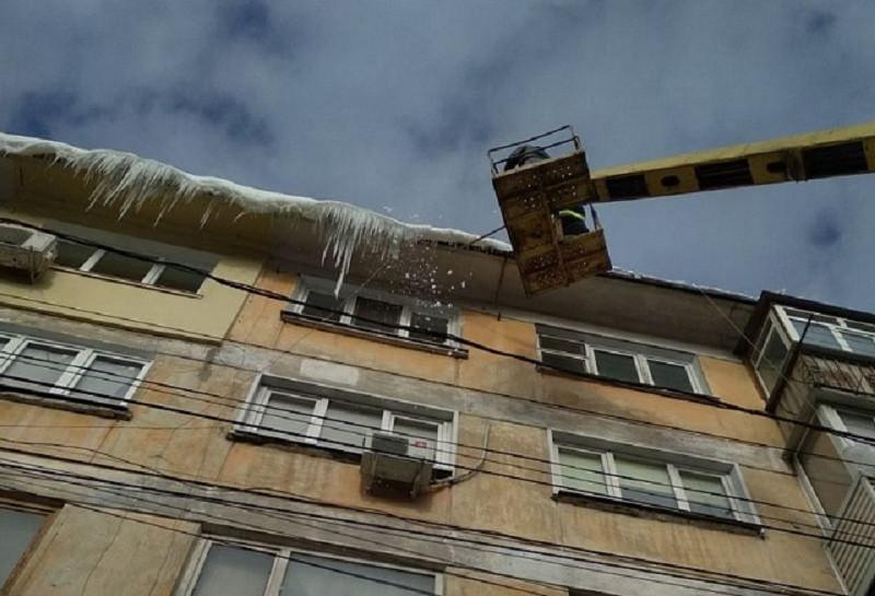 ForPost - Новости : Сосульки загоняют крымчан в больницы