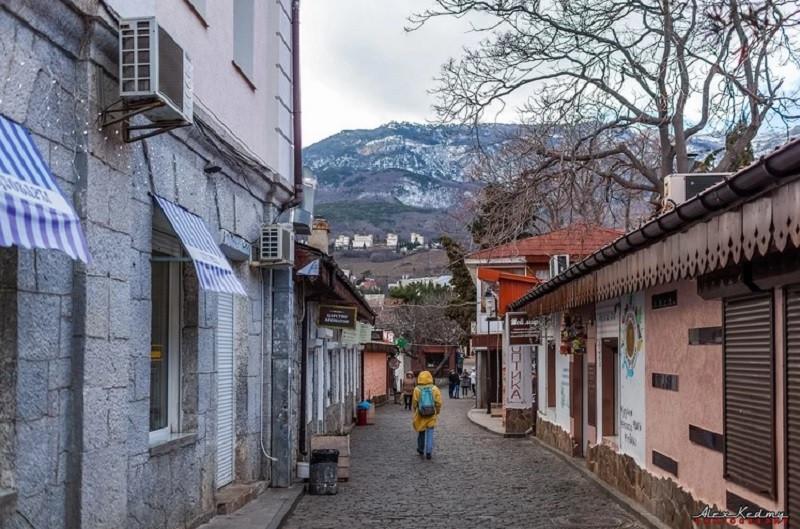 ForPost - Новости : Зима обошла стороной крымский поселок