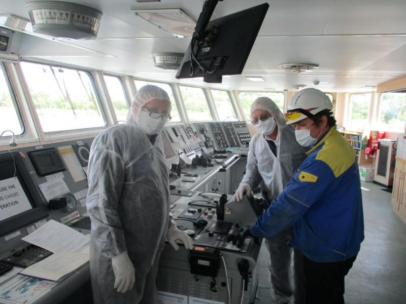 ForPost - Новости : На борту судна в Керченском проливе вспыхнуло неизвестное заболевание