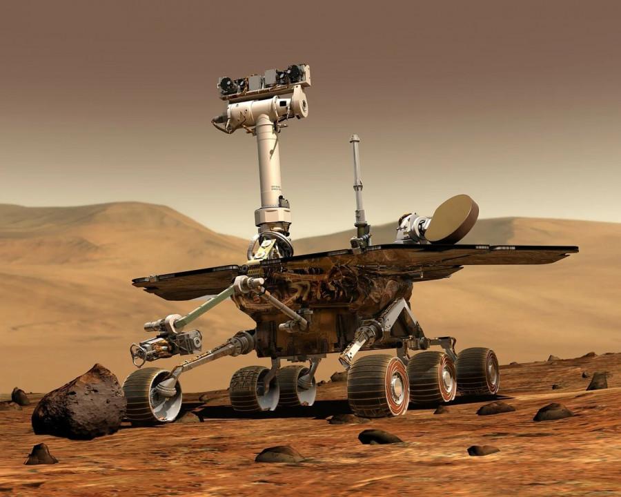 ForPost - Новости : Американский марсоход совершил успешную посадку на поверхность Марса