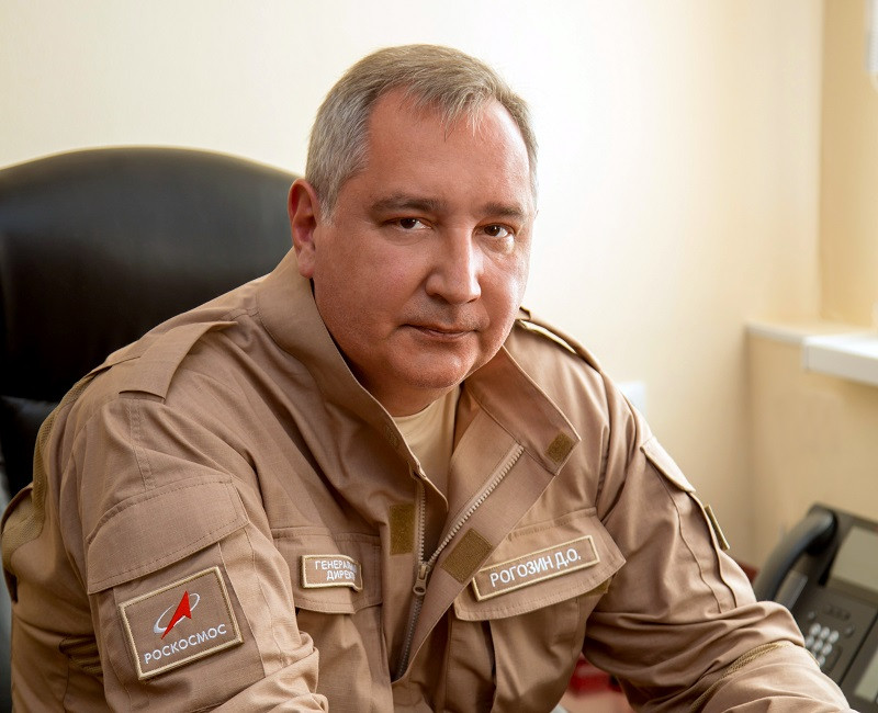 ForPost - Новости : Рогозин странно пошутил о высадке американского марсохода