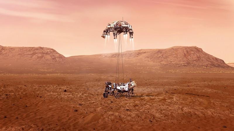 ForPost - Новости : Американцы успешно доставили исследовательский аппарат на Марс. Что дальше?