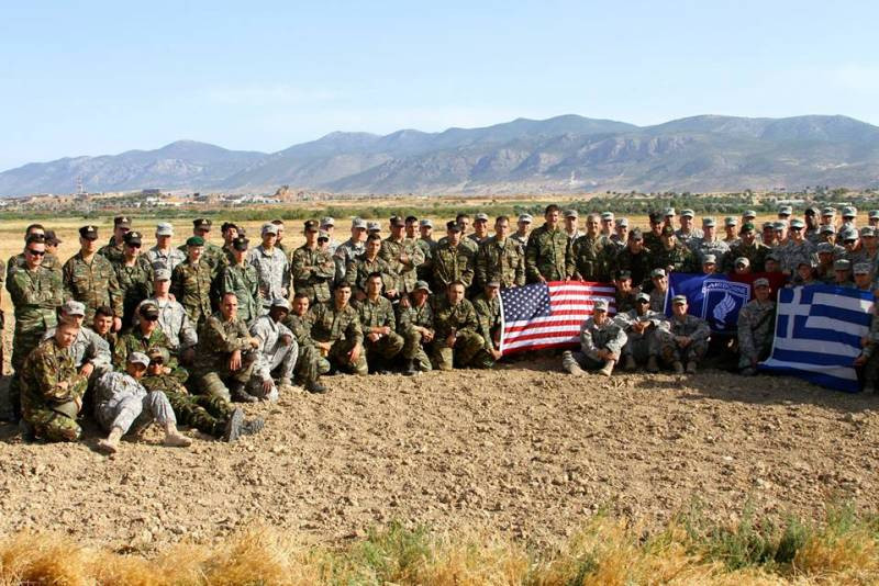 ForPost - Новости : США предложили Греции новое соглашение для размещения своих военных