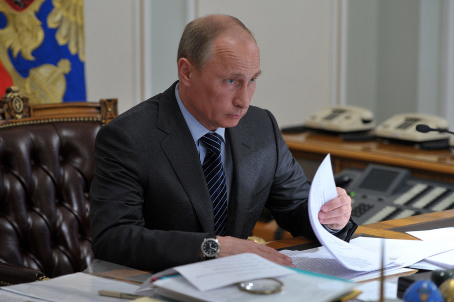 ForPost - Новости : Два севастопольца получили благодарность от Путина
