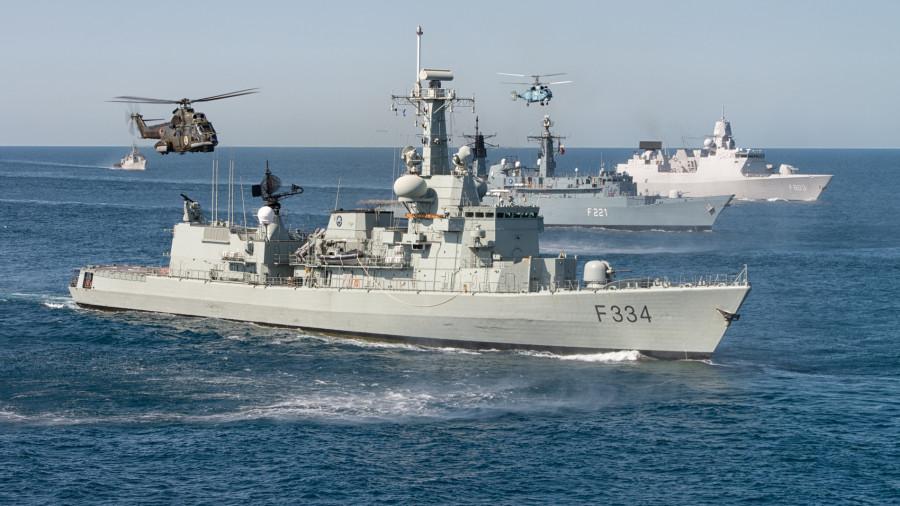 ForPost - Новости : В Черном море стартовали международные учения НАТО