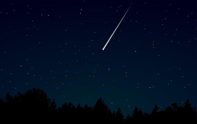 ForPost - Новости : Метеор эффектно рассёк ночное небо Великобритании