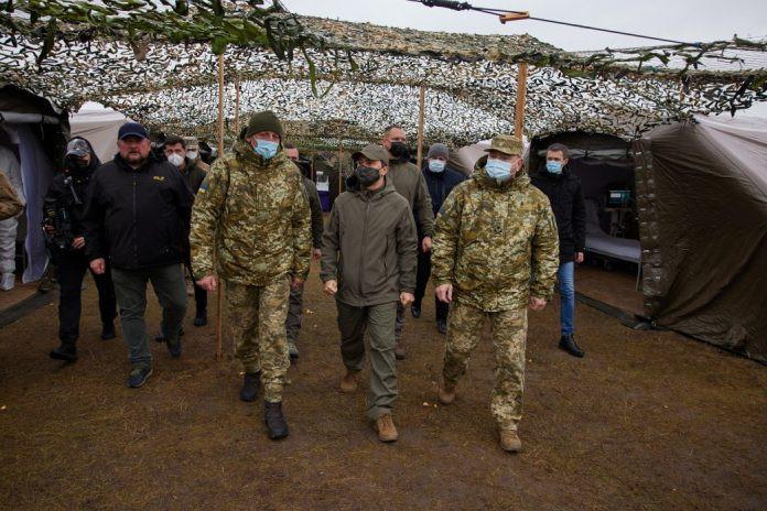 Зеленский выпросил у Евросоюза деньги на КПВВ в Донбассе