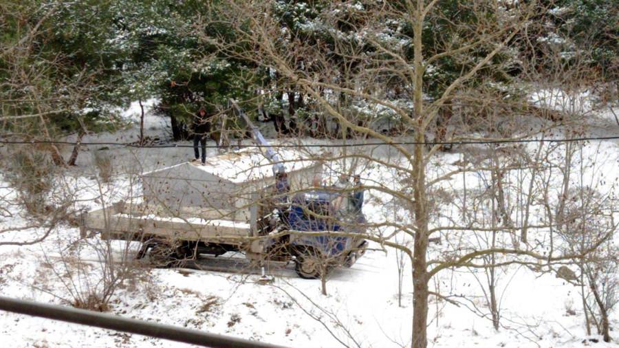 ForPost - Новости : Севастополец обнаружил в лесу растущие гаражи