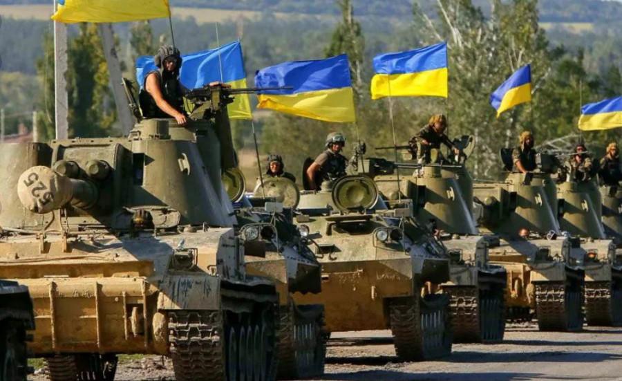 Украина готовится начать войну на Донбассе