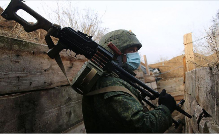 ForPost - Новости : Украина обстреляла окрестности Донецка.