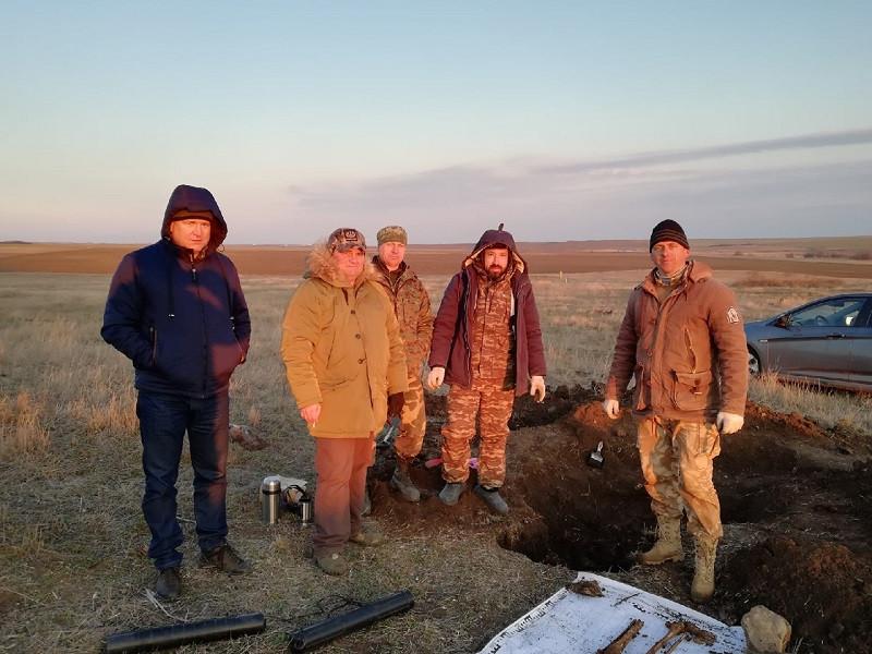 ForPost - Новости : В Крыму нашли останки солдата-смертника и его личные вещи