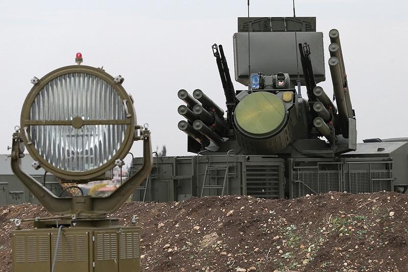 ForPost - Новости : Турецкие беспилотники атаковали российский «Панцирь-С1»