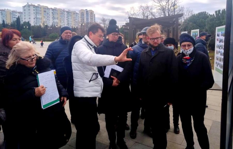ForPost - Новости : В севастопольском парке Победы сделают четыре входа