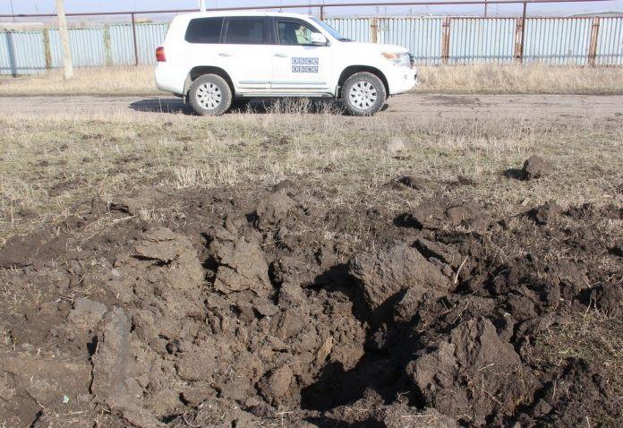 ForPost - Новости : В СММ ОБСЕ подтвердили стягивание украинской техники к линии фронта