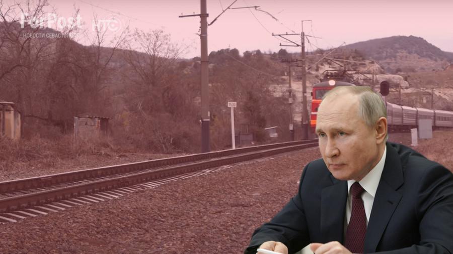 ForPost - Новости : Качаем прессу: в Инкермане – поезда на стадионе, в Севастополе – вода из Бельбека и лагерь на Херсонесе