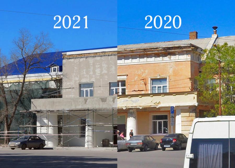 ForPost - Новости : В Севастополе частично восстановят облик исторического здания на Ластовой