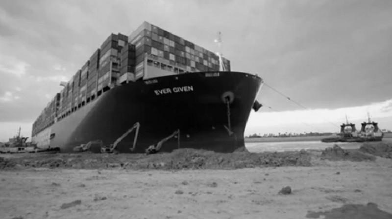 ForPost - Новости : Президент Египта приказал разгрузить судно, перекрывшее Суэцкий канал